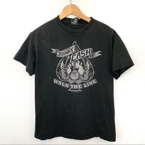 Johnny Cash Walk The Line T Shirt
